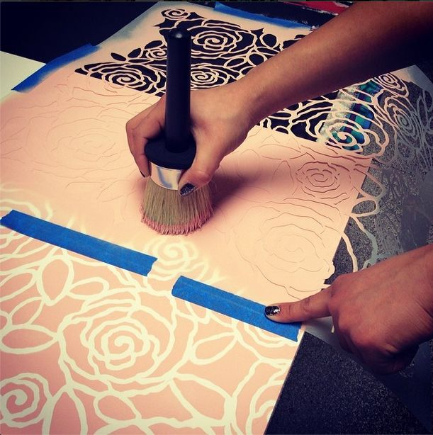 55 best Stencils and Chalk Paint ® images on Pinterest | Stenciling ...