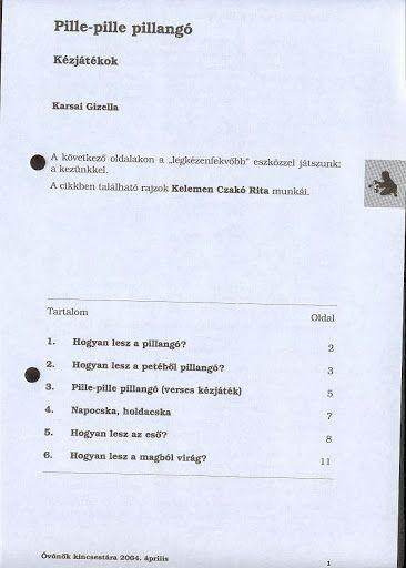 C1-13 - Pille-pille pillangó (verses kézjáték) - Angela Lakatos - Picasa Webalbumok