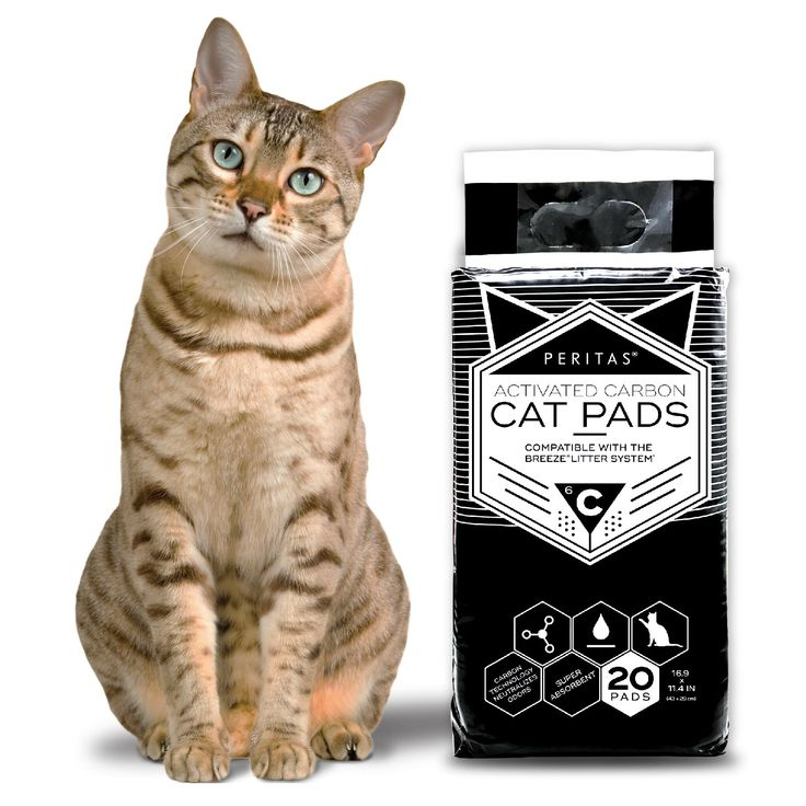 Peritas Activated Carbon Cat Pads for Breeze Tidy Cat
