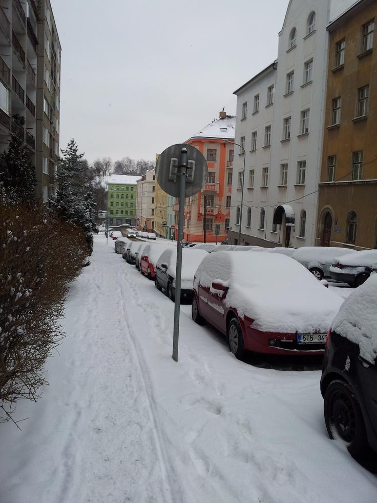 Snowy Zizkov