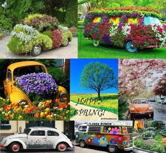 images  vw flower power  pinterest cars vw bus  buses