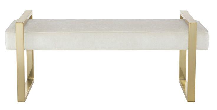 Bernhardt Furniture | Jet Set Collection | 356-508 Bench | MacQueen Home