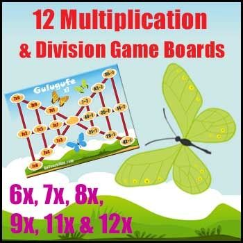 1000+ images about Multiplication Games on Pinterest