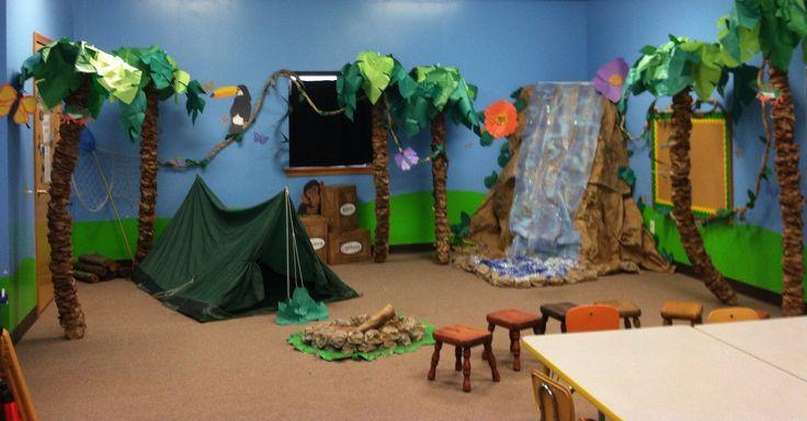 vbs safari | My finished Jungle Jaunt 2013 room | Jungle Jaunt VBS