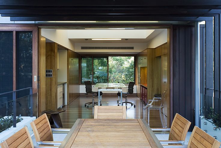 Samford House: Outdoor dining seamlessly connects to interior space. See more at http://blighgraham.com.au/projects/samford-house-1