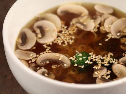 Supa picanta de pui cu ciuperci