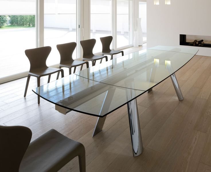 Infinity Extendable Table · Glass Kitchen ...