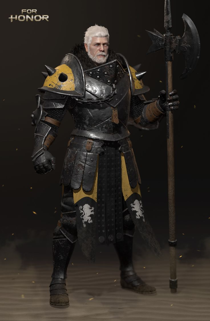Artstation - For Honor Lawbringer, Oonbee Hwang 3D-8692