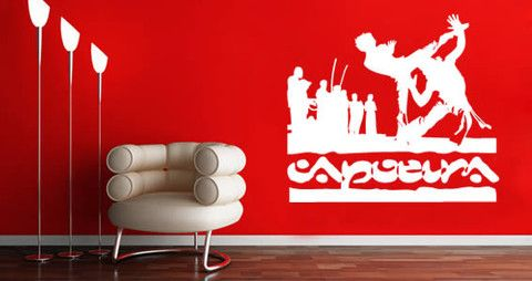 Dance wall decal for your home We decided to create a new design dedicated to this beautiful sports.   Visit this link for more designs: https://limelight-vinyl.myshopify.com/