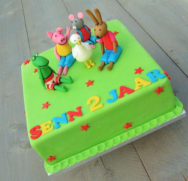 Kikker en zijn vriendjes taart