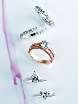Graff is another my dream marriage ring. PERFECT