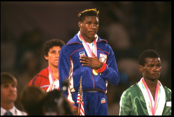 1984 US Boxing TeamAnchored by future legends Meldrick Taylor and Pernell Whitaker, the 1984 US Boxing team medaled in nearly every event - taking home nine golds.