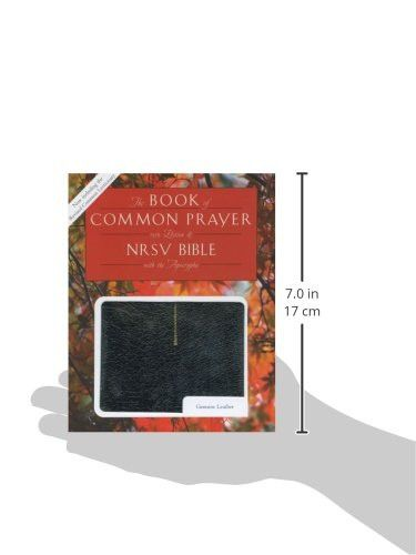 1979 Book of Common Prayer (RCL edition) and the New Revised Standard Version Bible with Apocrypha,
