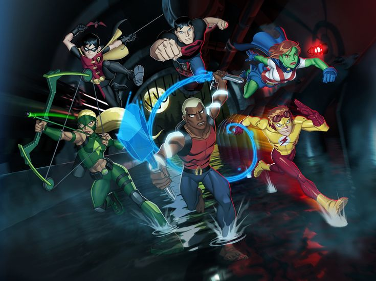 Cartoon Network Cancels Young Justice and Green Lantern - NerdSpan