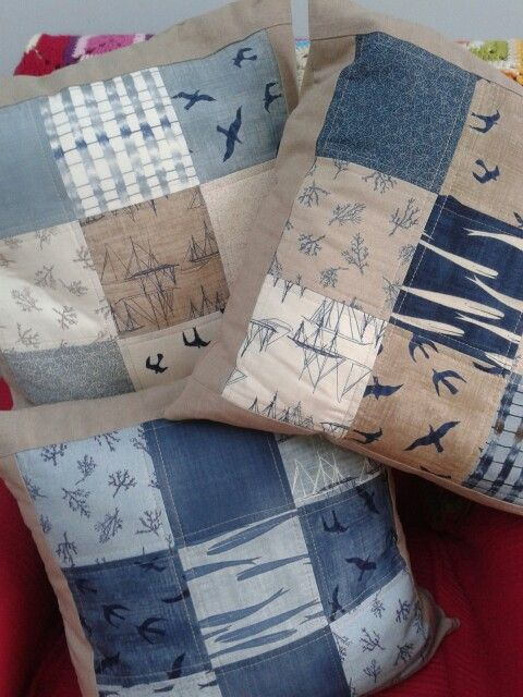 Patchwork cushions in Janet Clare fsbric · Patchwork CushionPatchwork QuiltingPillow IdeasPillow TalkFabric ... & 681 best Pillow Talk images on Pinterest | Pillow talk Cushions ... pillowsntoast.com