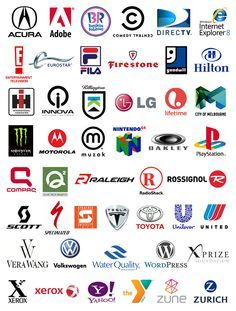 initial logo symbols. Any logo design must begin with research into the client, their company, mission, culture, industry, and demographics. Depending on the result of this research, the branding strategy may suggest that an appropriate symbol design may use initial(s) from the company name. Here are examples of well known combination logos using initial symbols, from A-Z: