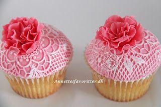 Annettes kager: How to - CupcakeArt måtter