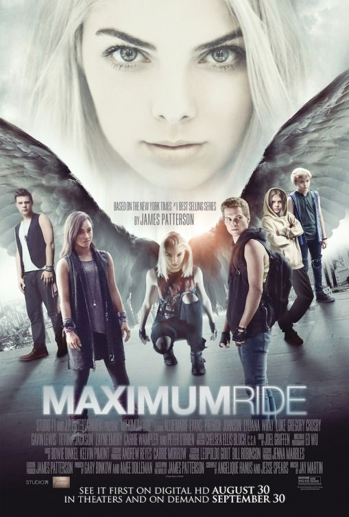 Maximum Ride (2016) while I have hope, whatever the heck this is is probably gonna hardcore suck. They either need to get a better budget and a better cast or just don't make a movie.
