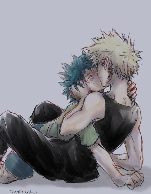 Sorry but i don't wanna end up with full yaoi on my MHA board but these two.....I JUST HAVE TO SHARE IT !