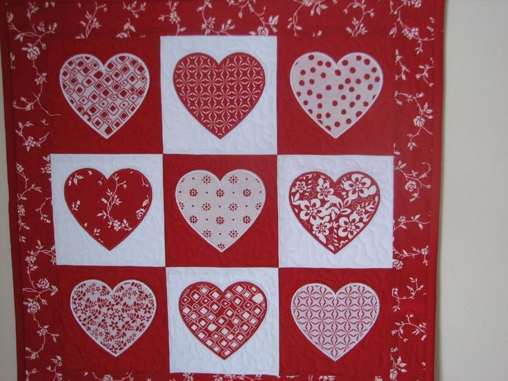 1000+ images about Quilts Valentine projects on Pinterest