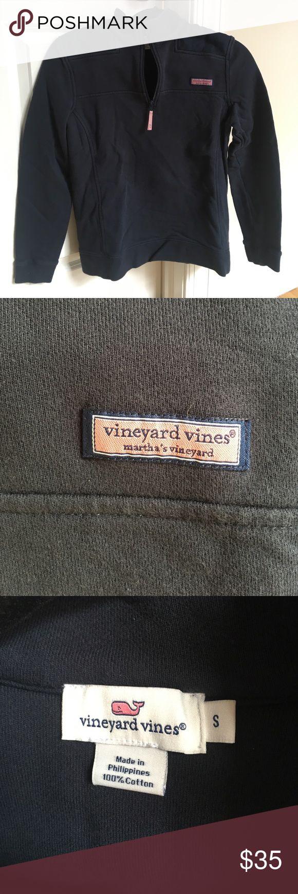 Vineyard Vine's Women's Shep Shirt navy women's small shep shirt, gently worn... willing to negotiate price! Vineyard Vines Tops Sweatshirts & Hoodies