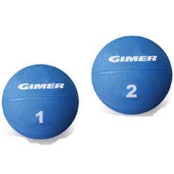 PALLA MEDICA Palla 2Kg. Per esercizi più impegnativi rispetto alla palla da 1Kg.