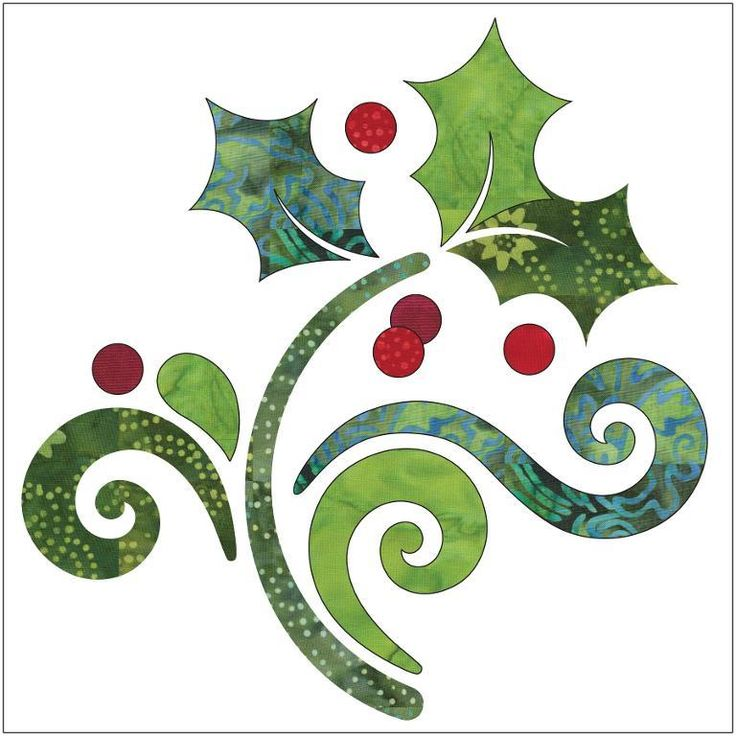 (7) Name: 'Quilting : Applique Add On's - Season's Greetings 1