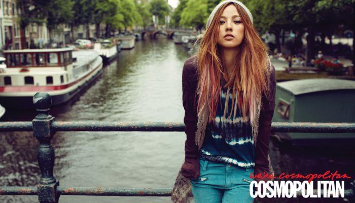 Lee Hyori for Cosmopolitan Korea August 2012