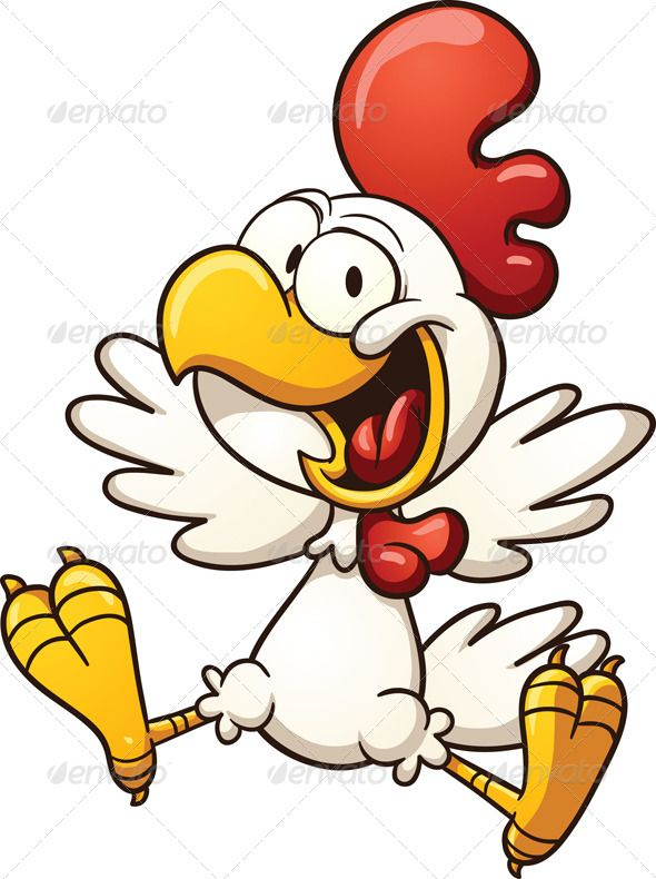 Realistic Graphic DOWNLOAD (.ai, .psd) :: http://sourcecodes.pro/pinterest-itmid-1007068568i.html ... Happy Chicken ...  cartoon, character, chicken, cute, excited, gradient, happy, hen, illustration, isolated, jumping, rooster, smiling, vector, white  ... Realistic Photo Graphic Print Obejct Business Web Elements Illustration Design Templates ... DOWNLOAD :: http://sourcecodes.pro/pinterest-itmid-1007068568i.html