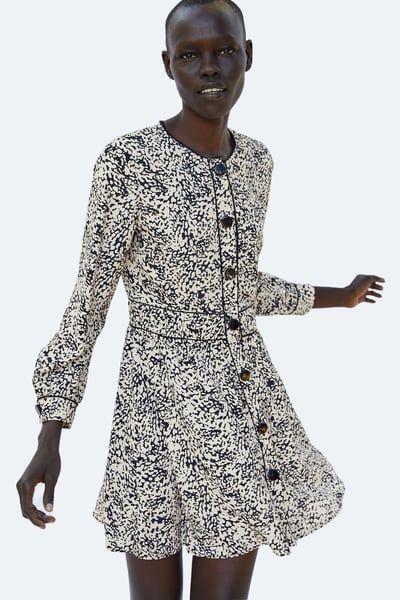 f159134b546 Εικόνα 2 του ΕΜΠΡΙΜΕ ΠΟΥΑ ΦΟΡΕΜΑ από Zara | zara 2018-2019 | Dresses ...