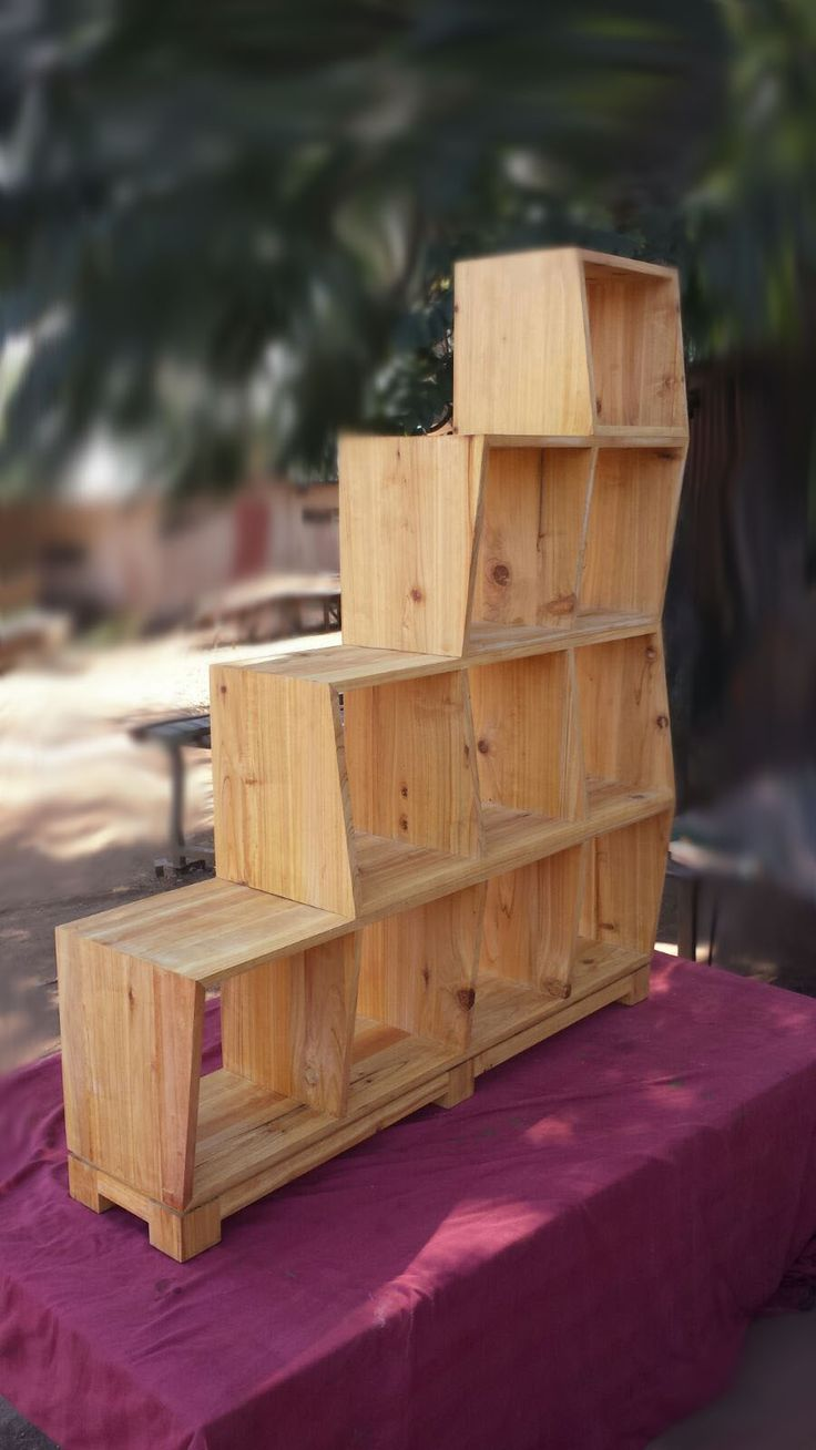 Custom designed and manufactured bookcase or display case - exclusive to Antiques and Gracious Living in #Whiteriver