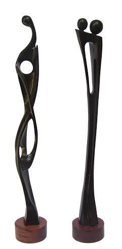 59 mejores im genes sobre esculturas en madera en - Esculturas de madera abstractas ...