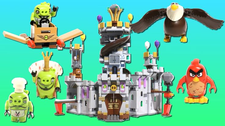 LEGO Toys for Kids   Angry Birds LEGO 🏰 King Pig's Castle - stop motion build video: https://youtu.be/4R5eYtJNmns