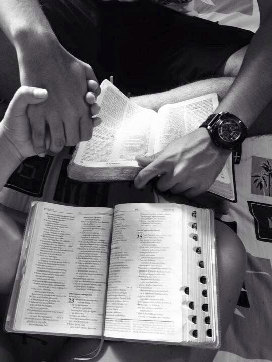 This is all I want to do right now. Hold my man's hand and listen to him talk about our Father!