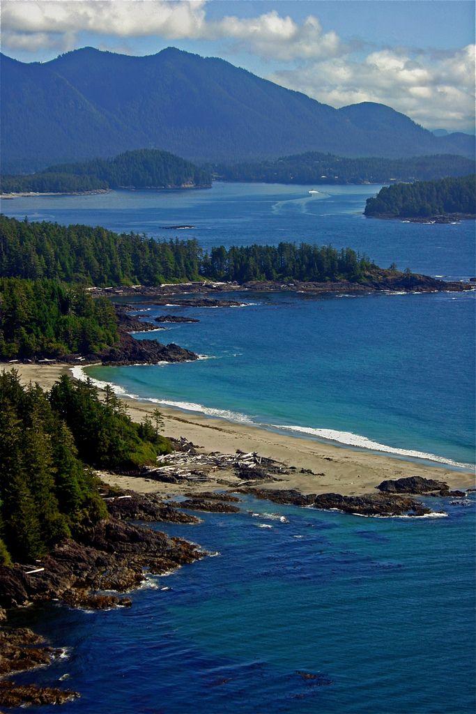 Clayoquot Sound, Vancouver Island, British Columbia, Canada.