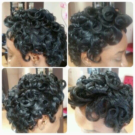 #pincurls #c-curls #waxcurls #blackhair #allnatural #transitionstyle #weavefree #noperm