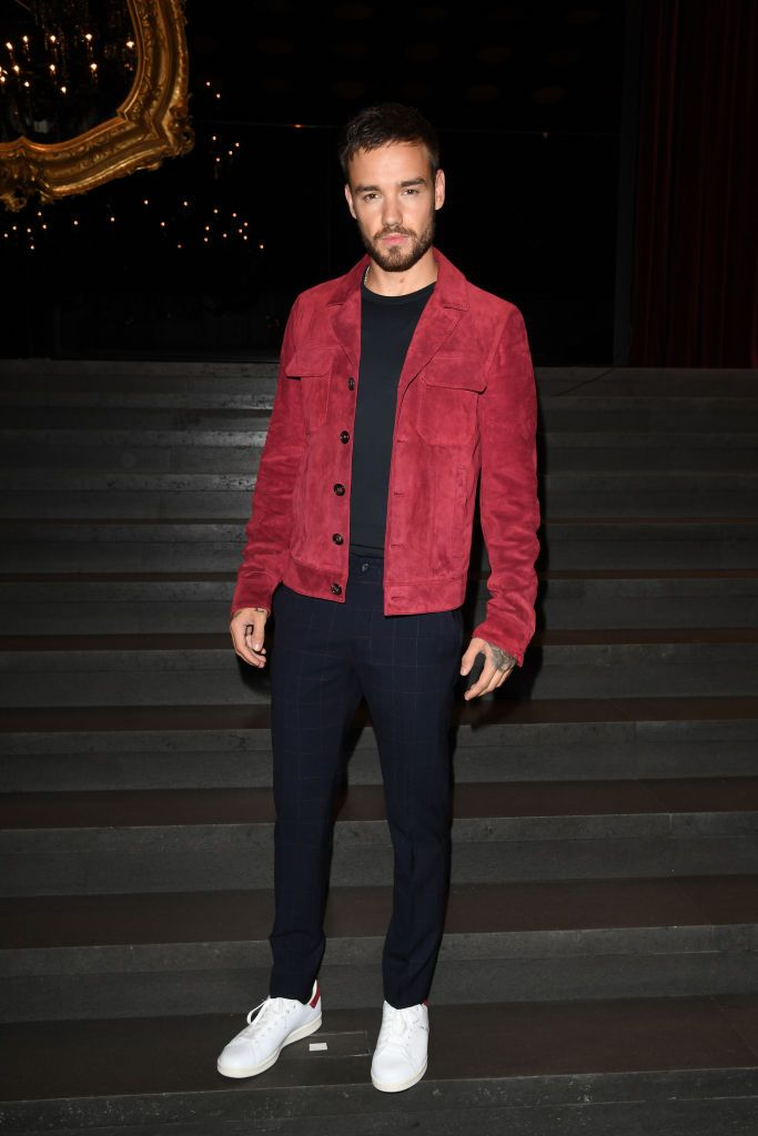 Liam Payne attends the Dolce & Gabbana show during Milan ...