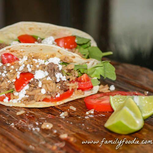 Tacos de Carne Asada #SundaySupper