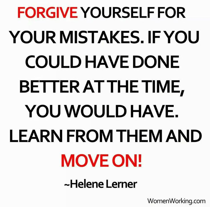 Forgive Yourself Quotes: Quotes About Forgiving Yourself. QuotesGram