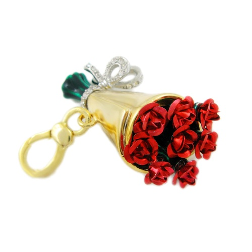 Juicy Couture Rose Bouquet Charm,JK i rather a guy get me THID than flowers