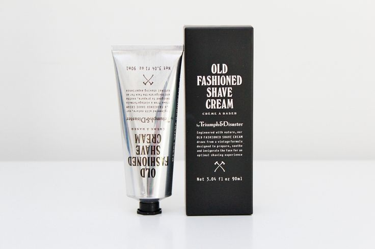Triumph & Disaster Old Fashioned Shaving Cream - a superior formula helps to prevent dry and sore skin whilst allowing for a close shave. A gift for men.