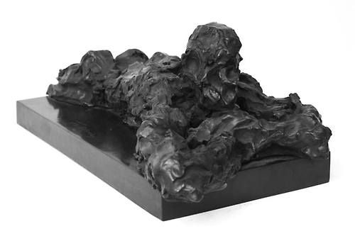 Rainer Fetting - Desmond, dozing, 2007, Bronze, 15 x 27 x 59 cm, Edition 3/9.  // at Egbert Baqué Contemporary Art, Berlin: Take A Walk On The Wild Side. To Russia with Love. And to Lou Reed.