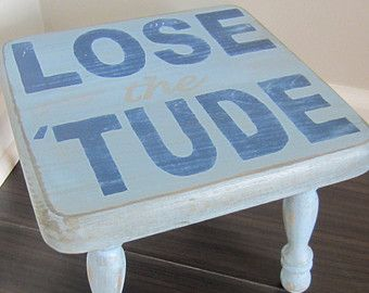 Time out stool time out chair time out bench by BigCheeksBoutique