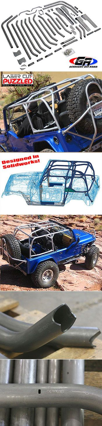 FULL Roll Cage Kit, TJ