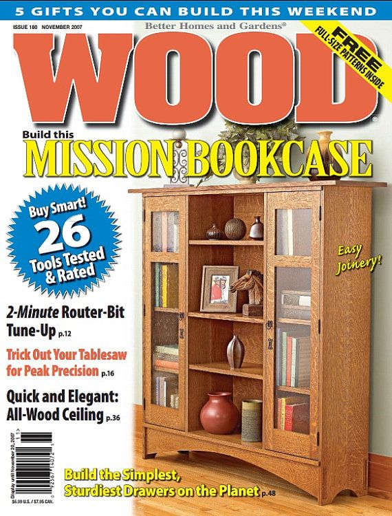 Wood Magazine 1984 2009 Full Collection от HomePrintQuotes на Etsy