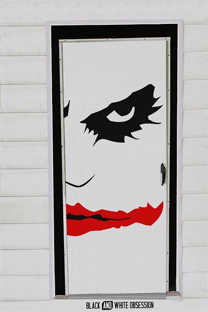 The Dark Knight Halloween Door Decorations