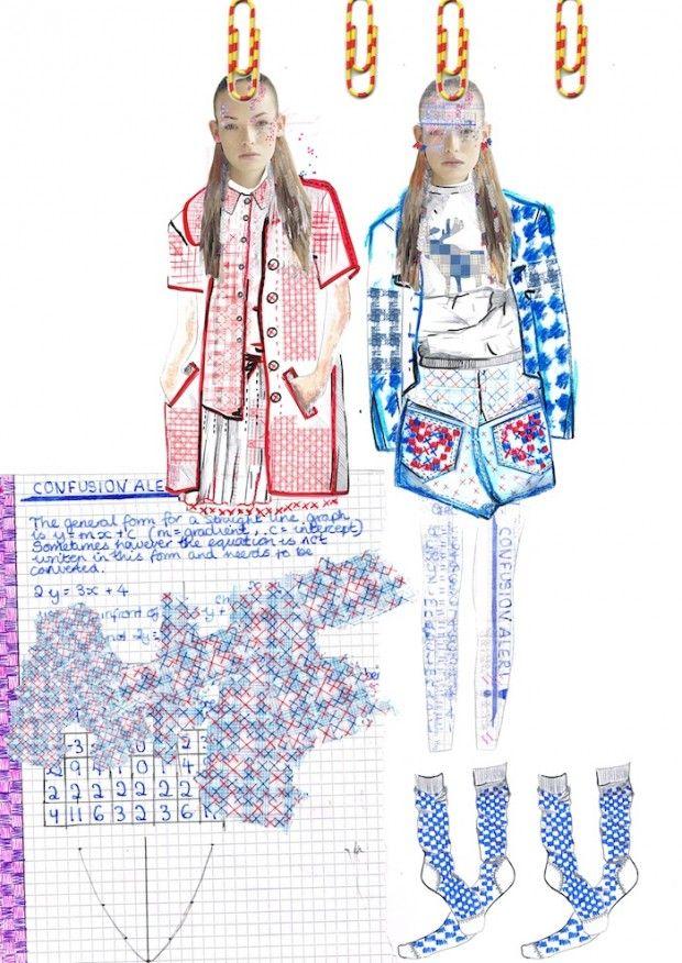 Fashion portfolio page