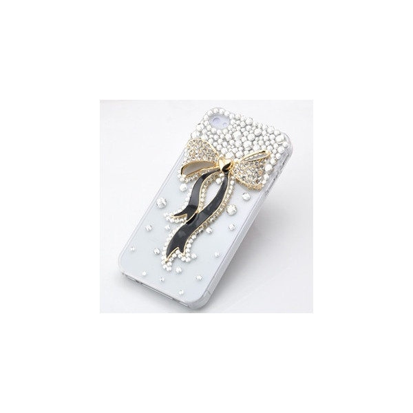 Big Bling Bow iPhone 4/4S Case ShopLocket ❤ liked on Polyvore