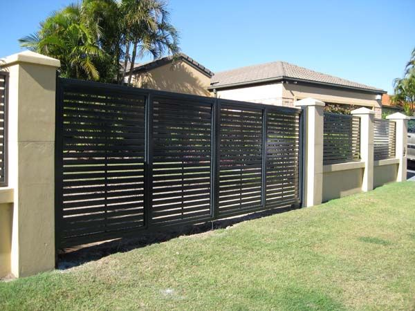 COLORBOND® Steel & Aluminium Fencing & Electric Gates - Superior Screens