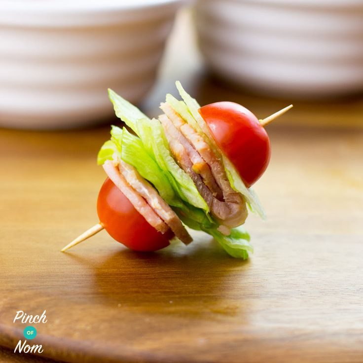 TheseSyn Free BLT Bites are perfect when you just fancy something to nibble on. You can make them up in advance and leave them in the fridge to pick at through the day, and they're free so you can eat as many as you want. In fact they're mostly speed so they'll even give your…